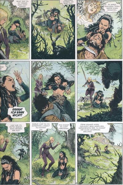 Leseprobe 2 von Die Welten von Thorgal | Kriss de Valnor, Band 3 - Einer K�nigin w�rdig