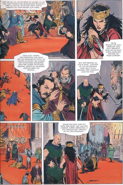Leseprobe 1 von Die Welten von Thorgal | Kriss de Valnor, Band 4 - Bündnisse