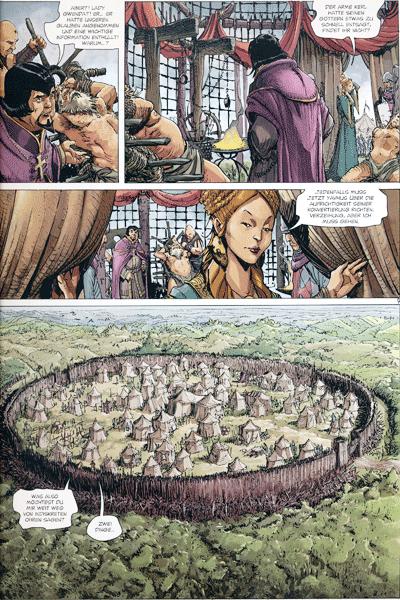 Leseprobe 1 von Die Welten von Thorgal | Kriss de Valnor, Band 5 - Rot wie der Raheborg