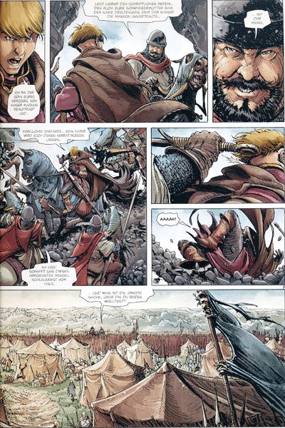 Leseprobe 2 von Die Welten von Thorgal | Kriss de Valnor, Band 5 - Rot wie der Raheborg