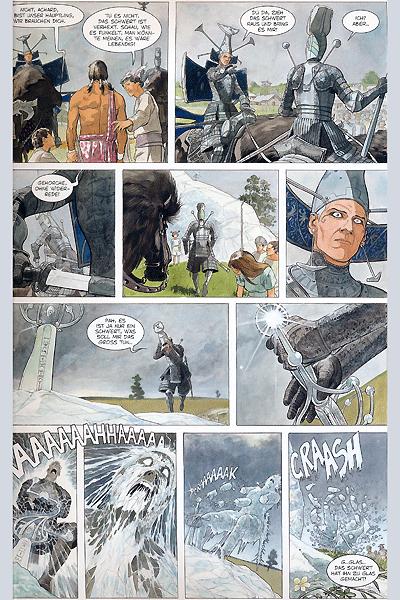 Leseprobe von Die Gläsernen Schwerter, Band 1 - Yama