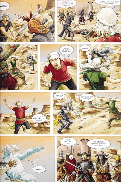 Leseprobe 1 von Die Gläsernen Schwerter, Band 4 - Dolmon