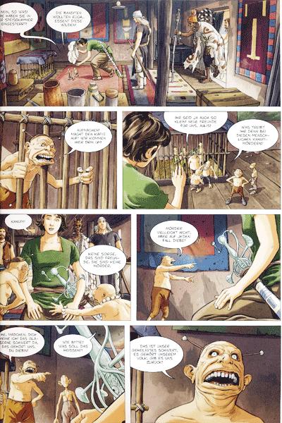 Leseprobe 2 von Die Gläsernen Schwerter, Band 4 - Dolmon