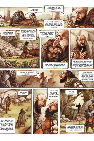 Leseprobe 1 von Die Geißeln von Enharma, Band 2 - Das verrückte Volk