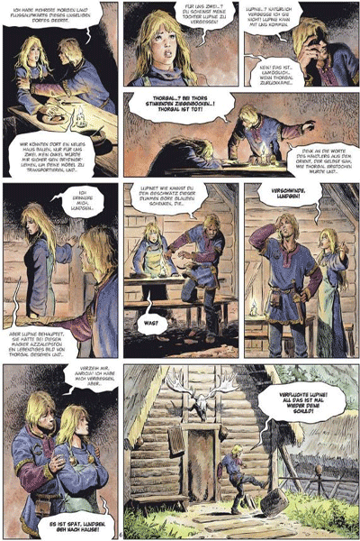 Leseprobe 1 von Die Welten von Thorgal | Lupine, Band 4 - Krahe
