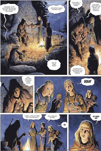 Leseprobe 2 von Die Welten von Thorgal | Lupine, Band 4 - Krahe