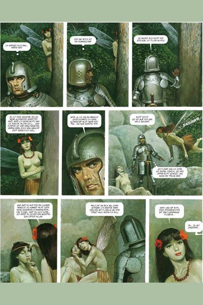 Leseprobe 1 von El Mercenario, Band 7 - Reise ins Irrlicht