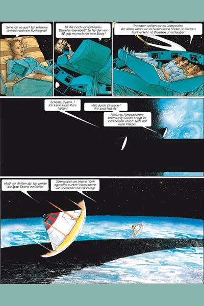 Leseprobe 1 von Cyann - Tochter der Sterne, Band 2 - Sechs Monde auf Ilo