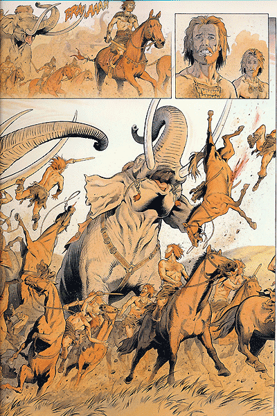 Leseprobe 2 von Reconquista, Band 1 - Die Horde der Lebenden