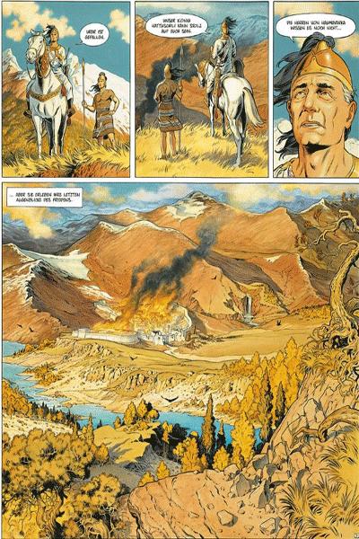 Leseprobe 1 von Reconquista [comic], Band 2 - Die Hethiter-Falle