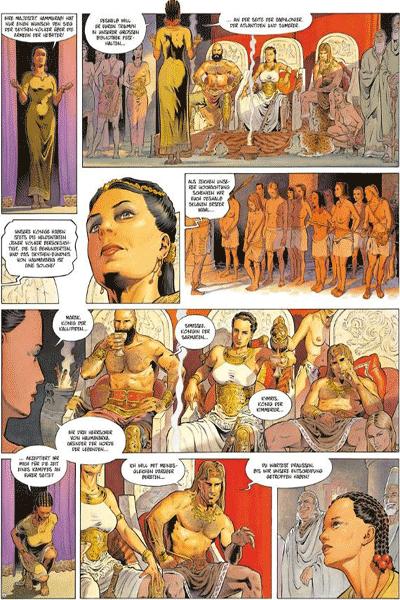 Leseprobe 2 von Reconquista [comic], Band 2 - Die Hethiter-Falle