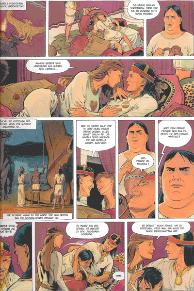 Leseprobe 1 von Reconquista [comic], Band 3 - Das Blut der Skythen