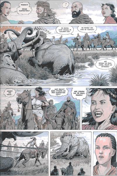 Leseprobe 2 von Reconquista [comic], Band 3 - Das Blut der Skythen