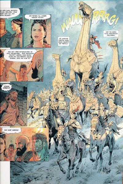 Leseprobe 2 von Reconquista [comic], Band 4 - Der Tod eines Königs
