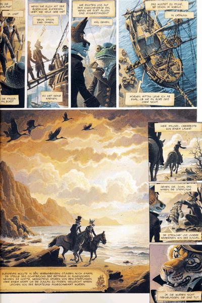 Leseprobe 1 von Die Kinder des Käpitän Grant, Band 3 - Buch 3