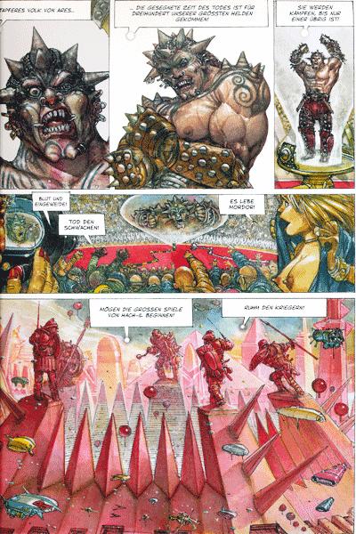 Leseprobe 1 von Segmente, Band 3 - Neo-Sparta