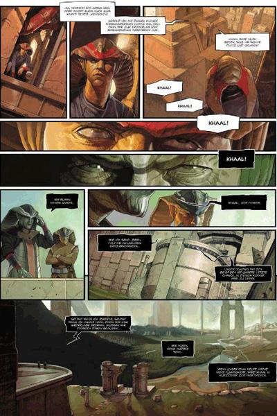 Leseprobe 1 von KHAAL - Chronik eines galaktischen Herrschers, Band 1 - Erstes Buch