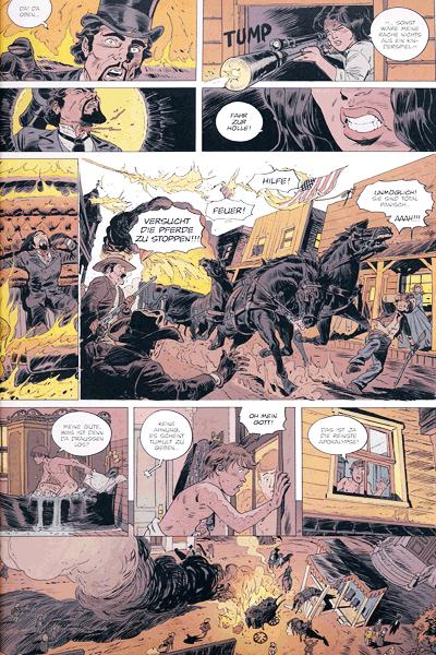 Leseprobe 2 von Die VIPER comic, Band 1 - Feuerregen