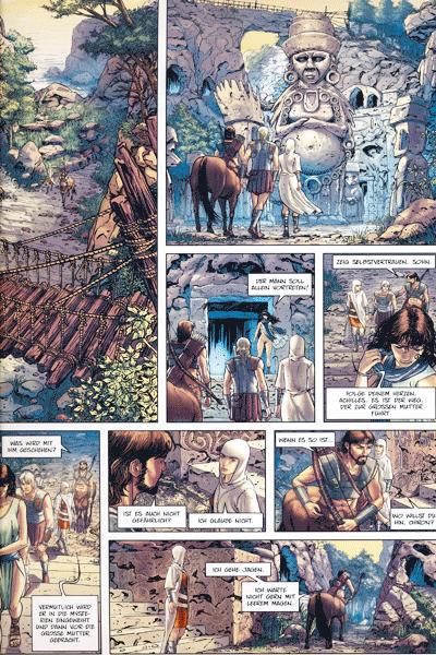 Leseprobe 1 von TROJA [comic], Band 3 - Die Rätsel von Samothrake