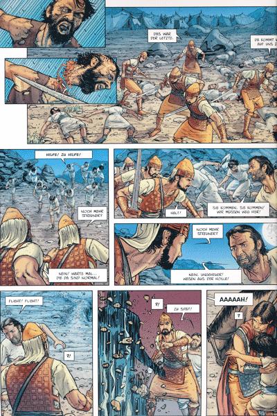 Leseprobe 2 von TROJA [comic], Band 3 - Die Rätsel von Samothrake
