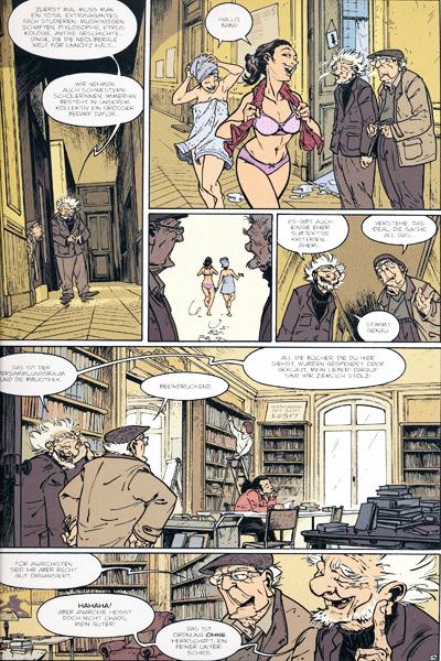 Zweite Leseprobe von Die alten Knacker, Band 2 - Bonnie und Pierrot