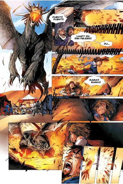 Erste Leseprobe von Die Legende der Drachenritter, Band 12 - Ellys