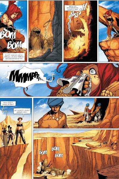 Leseprobe 1 von Die Legende der Drachenritter, Band 15 - Der Feind