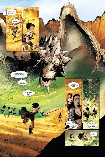 Leseprobe 1 von Die Legende der Drachenritter, Band 16 - Die Göttin