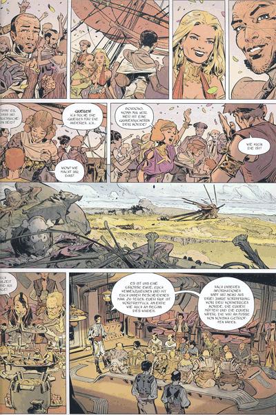 Leseprobe 1 von Die Horde des Windes, Band 2 - Das grazile Geschwader