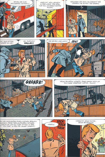 Leseprobe 2 von RICK MASTER Gesamtausgabe, Band 9 - Attentat im Zirkus
