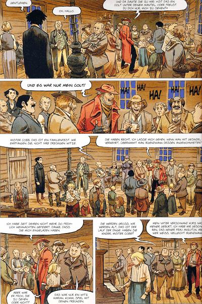Leseprobe 1 von STERN (Western) [comic], Band 3 - Der wahre Westen