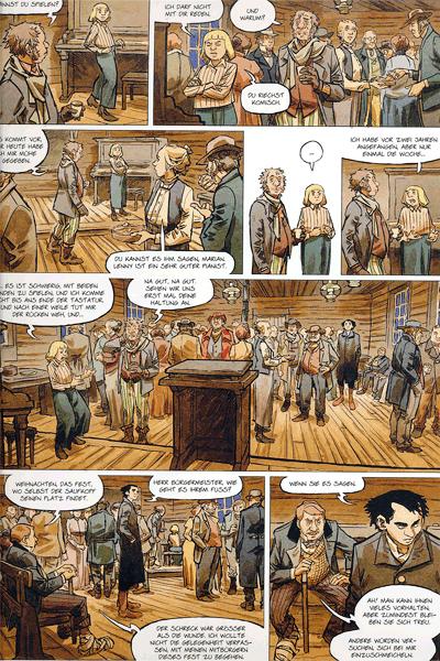 Leseprobe 2 von STERN (Western) [comic], Band 3 - Der wahre Westen