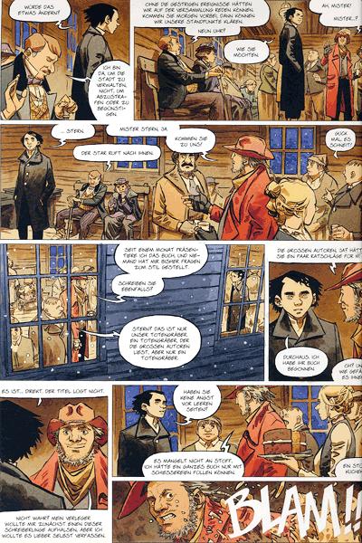 Leseprobe 3 von STERN (Western) [comic], Band 3 - Der wahre Westen