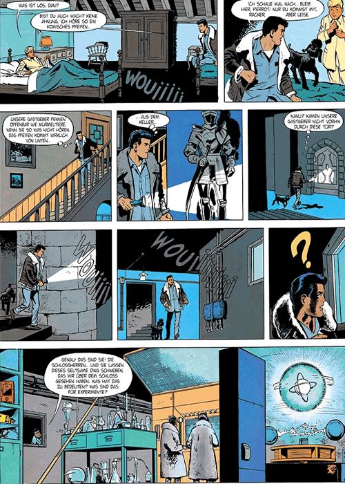 Leseprobe 1 von DAN COOPER [comic] [gesamtausgabe], Band 4 - Abenteuer zwischen Erde und Mond