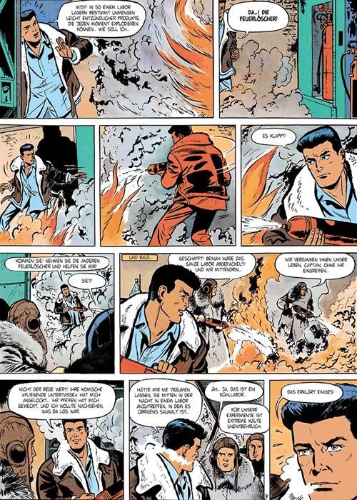 Leseprobe 3 von DAN COOPER [comic] [gesamtausgabe], Band 4 - Abenteuer zwischen Erde und Mond