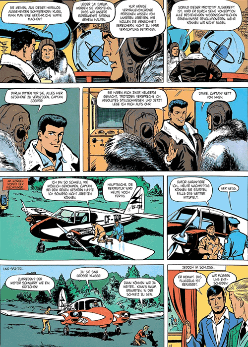 Leseprobe 4 von DAN COOPER [comic] [gesamtausgabe], Band 4 - Abenteuer zwischen Erde und Mond