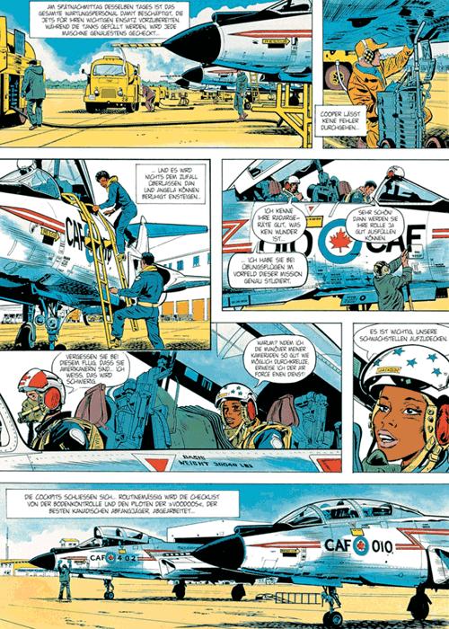Leseprobe 1 von DAN COOPER [comic] [gesamtausgabe], Band 8 - Abenteuer zwischen Erde und Mond