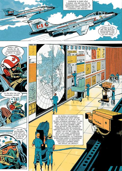 Leseprobe 2 von DAN COOPER [comic] [gesamtausgabe], Band 8 - Abenteuer zwischen Erde und Mond