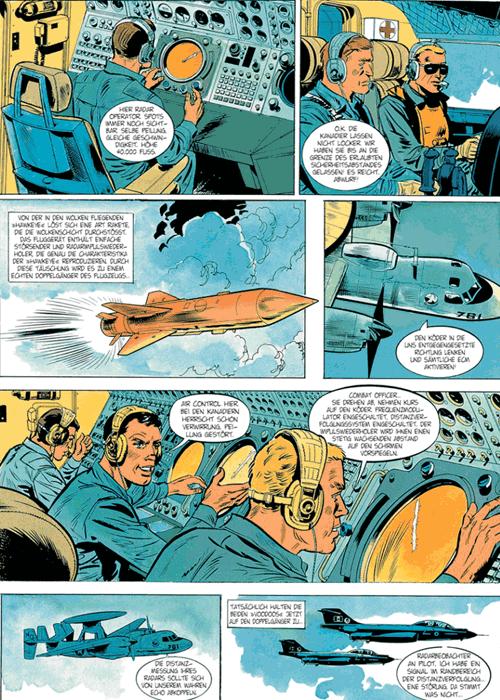 Leseprobe 3 von DAN COOPER [comic] [gesamtausgabe], Band 8 - Abenteuer zwischen Erde und Mond