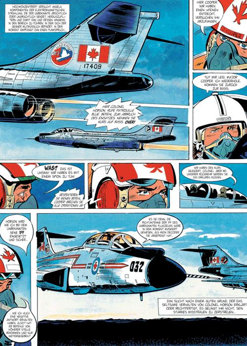 Leseprobe 4 von DAN COOPER [comic] [gesamtausgabe], Band 8 - Abenteuer zwischen Erde und Mond