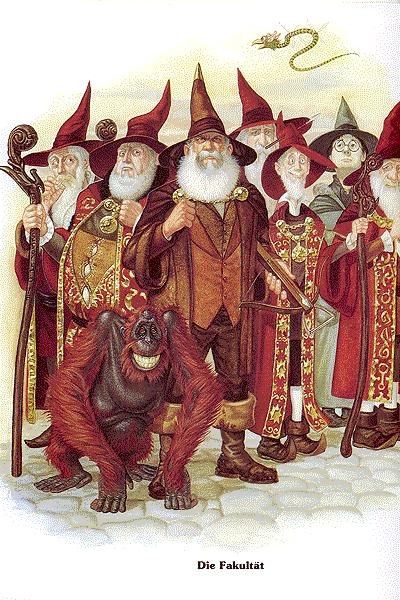 Leseprobe 2 von Das Scheibenwelt Album, Einzelband - Willkommen in der Welt von Terry Pratchett!