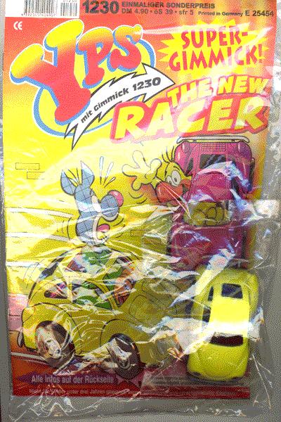 Leseprobe von YPS Heft und Gimmick, Heft 1230 - The New Racer