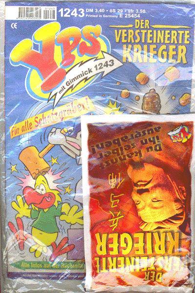 Leseprobe von YPS Heft und Gimmick, Heft 1243 - Der versteinerte Krieger