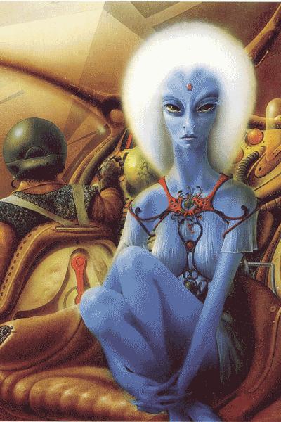 Leseprobe von Feuerschiff, Einzelband - Meisterwerke der Science Fiction Illustration