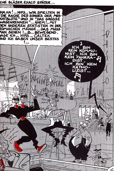 Leseprobe von Atomium 58 21: Terror in Hollywood, Band 21 - Ein Abenteuer mit Suplex und Caltex