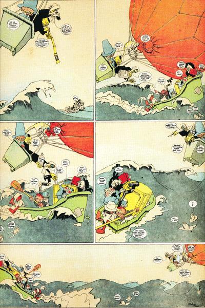 Leseprobe 1 von THE KINDER KIDS, Einzelband - Comicstrips