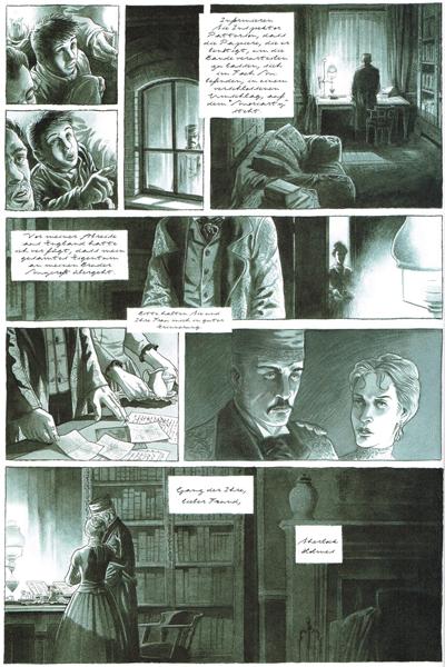 Leseprobe 1 von HOLMES (1854/†1891?), Band 1 - Abschied von der Baker Street