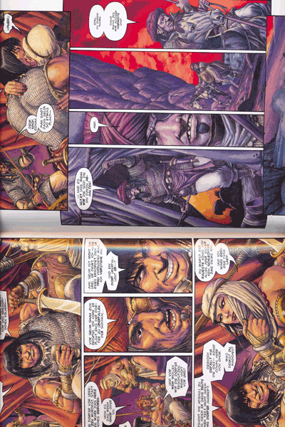 Leseprobe von Conan, Band 8 - Die blutbefleckte Zone und andere Geschichten
