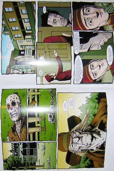 Leseprobe 2 von PREACHER Hardcover, Band 2 - Blut ist dicker