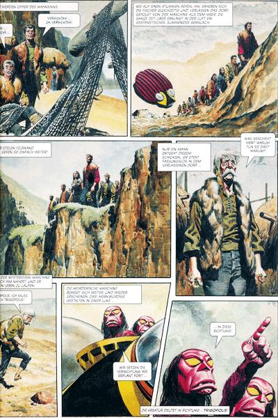 Leseprobe 1 von TRIGAN | Panini Comics, Band 2 - Die Invasoren von Gallas